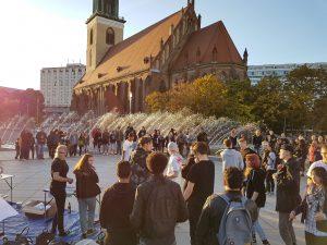 Alexanderplatz Outreach @ Berlin, Alexanderplatz